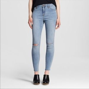 Mossimo high-waisted jeggings, size 10